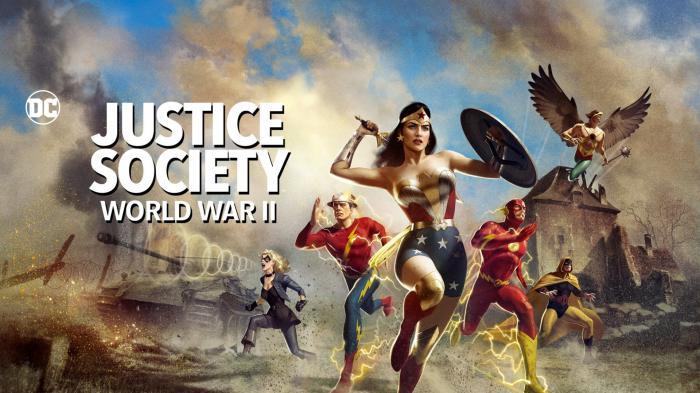 Justice Society: World War II by @Kinoel82